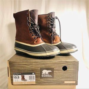 """NIB NWT Sorel Men's """"1964 Premium T"""" Boots 10.5"""